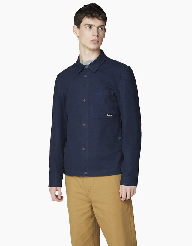 Ben Sherman Navy Trucker Jacket