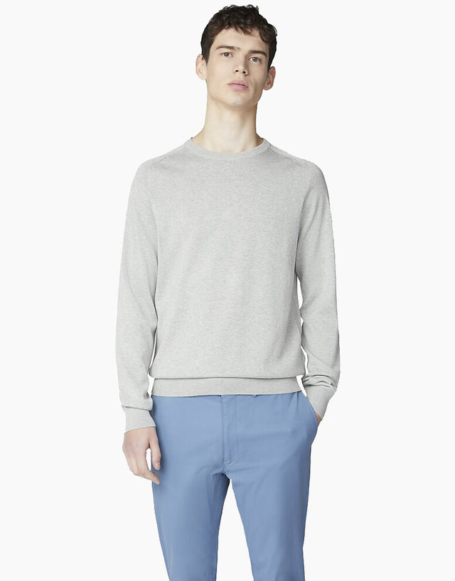 Ben Sherman Grey Signature Cotton Crew