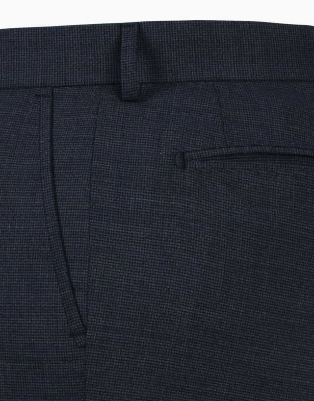 Beck Blue Micro-design Chinos