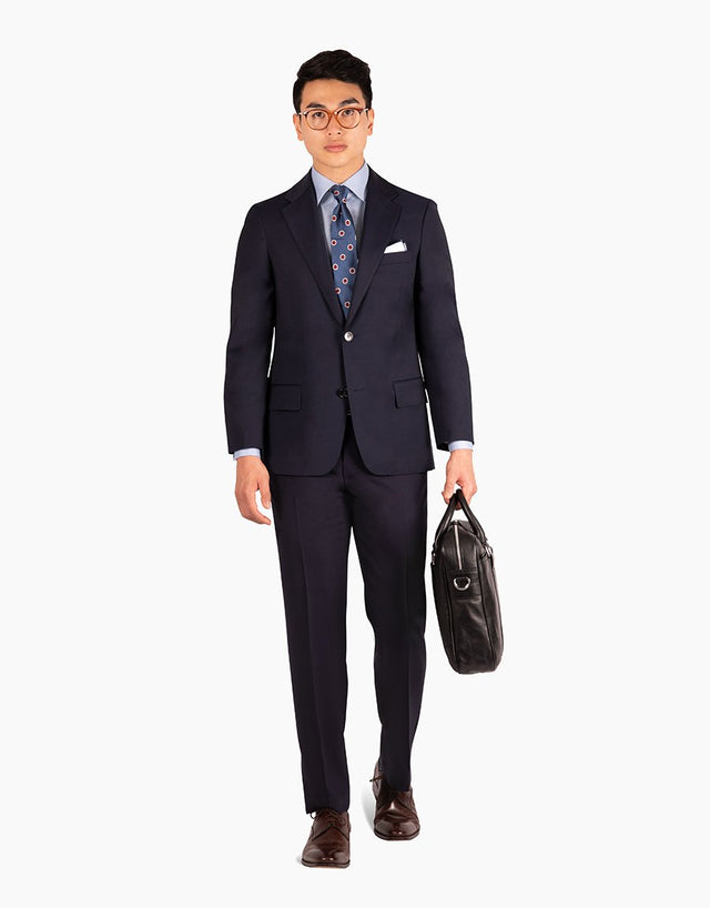 Lotus Navy Travel Suit Trouser