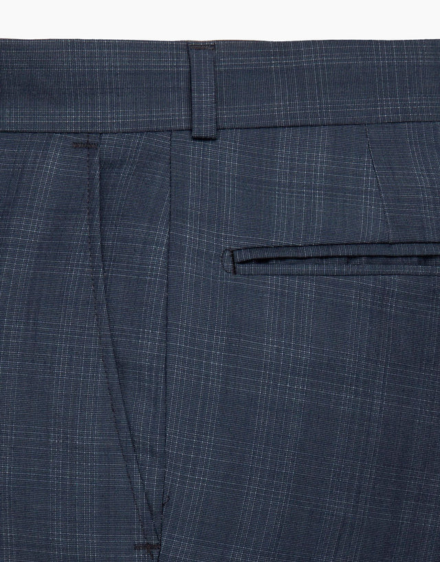 Gresham Blue Check Suit