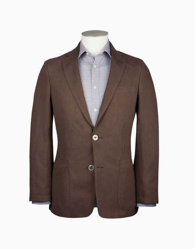 Melrose Chocolate Neat Blazer