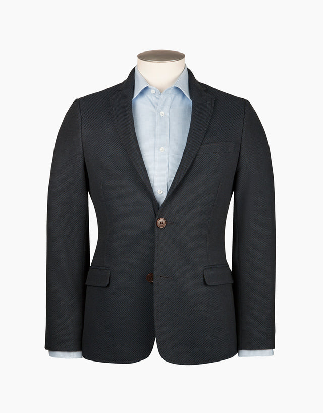 Cypress navy & black blazer