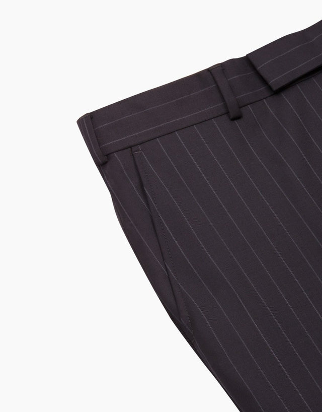 Lotus Navy Pinstripe Suit Trouser