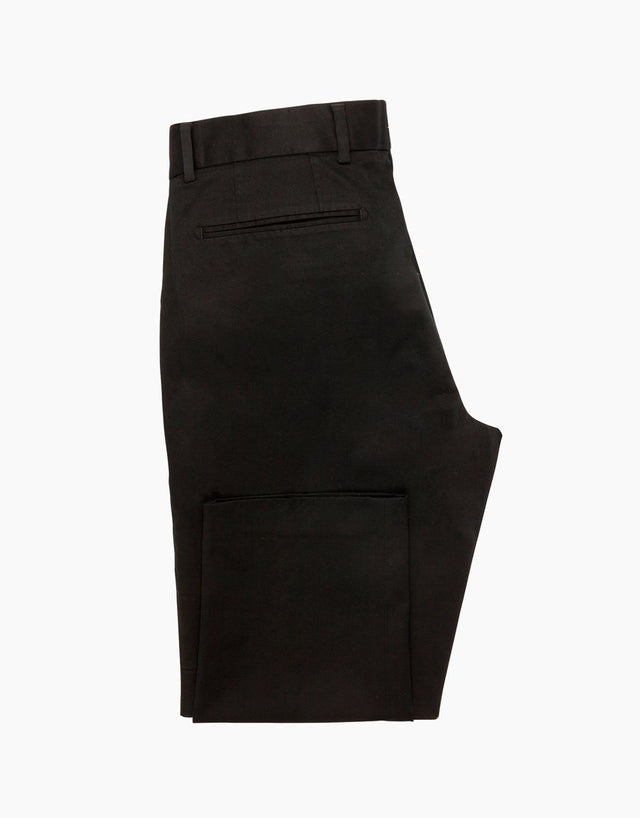 Beck Black Washed Chinos