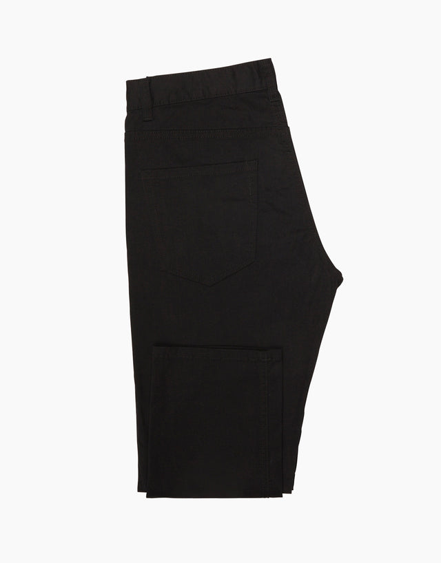 Sloane black washed trousers