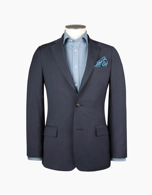 Blake navy two piece suit
