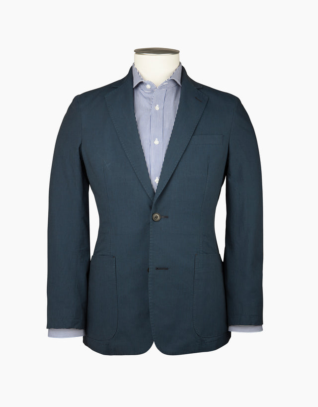 Sheen Navy Washed Blazer