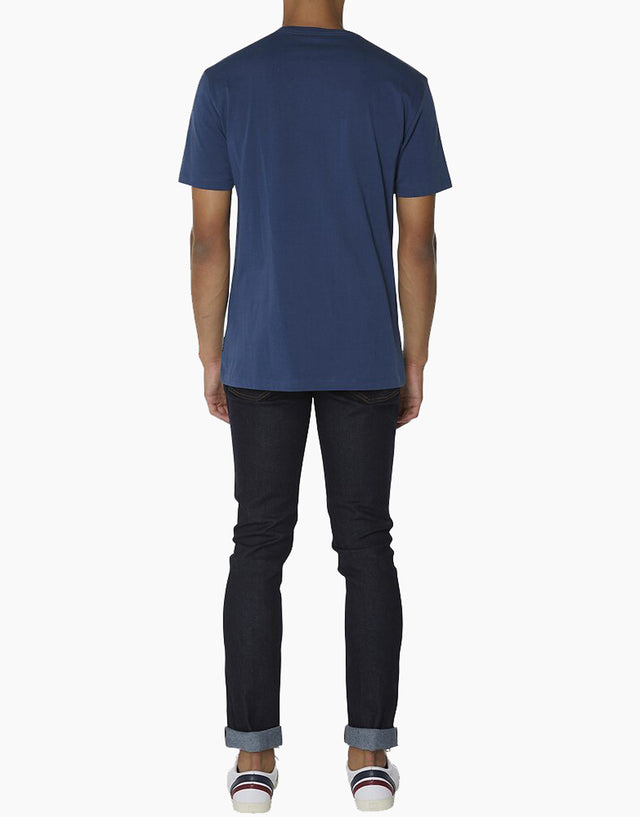 Ben Sherman navy chest embroidery t-shirt