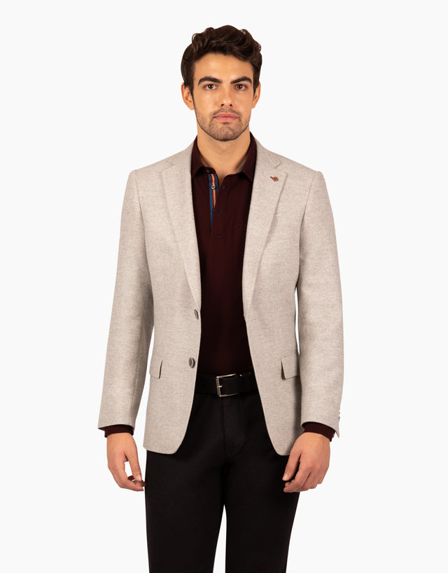 Hawker light grey blazer
