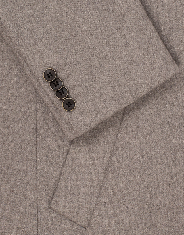 Compton light grey overcoat