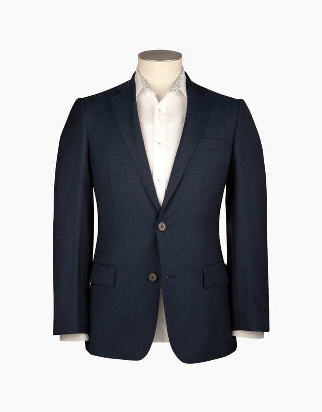 Hawke navy birdseye two trouser suit