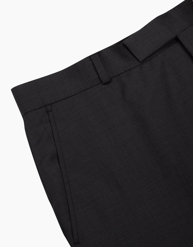 Lotus charcoal pinhead trouser