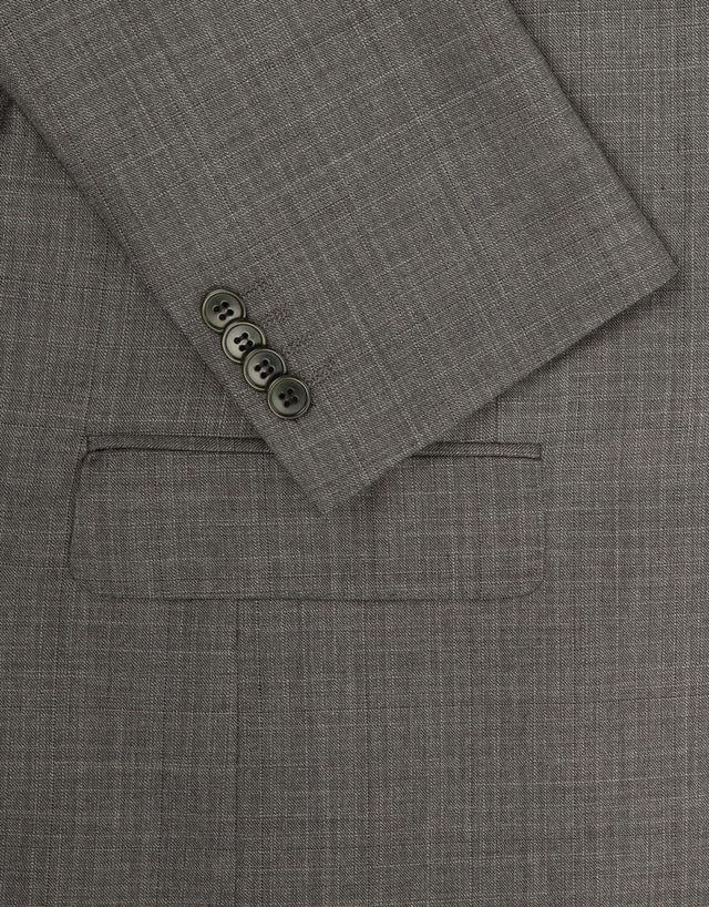Hawke grey check two piece suit