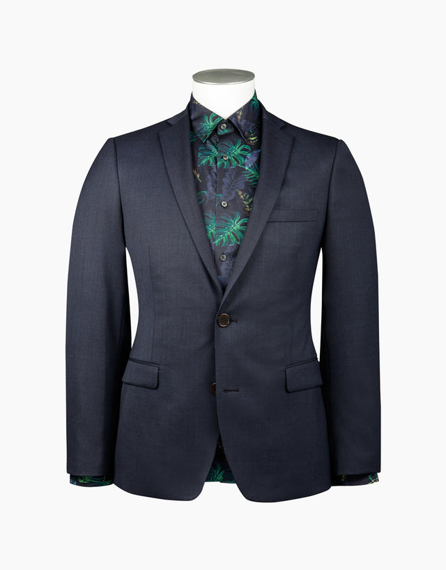 Fresh navy skinny fit suit