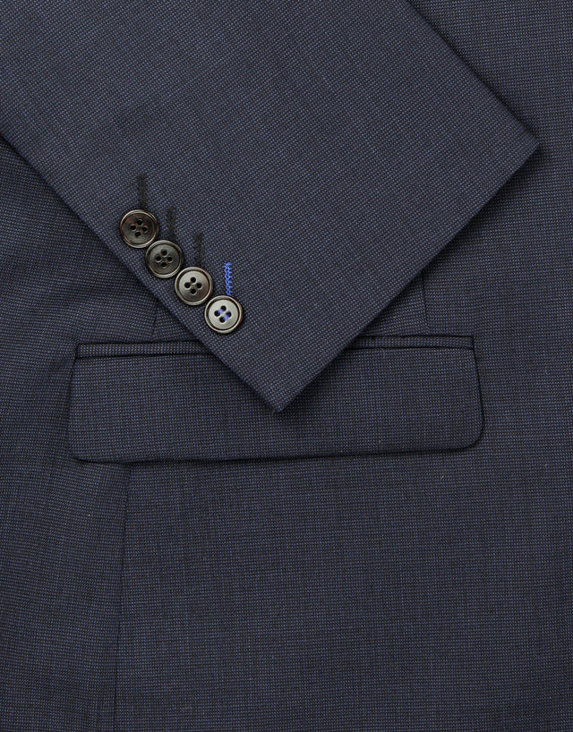 Fresh navy two piece suit