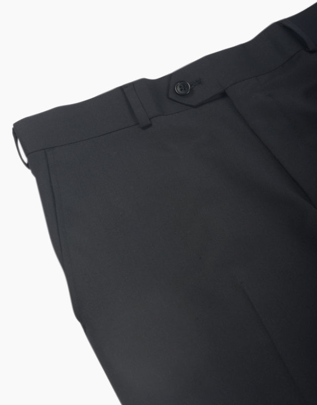 Hollywood black twill trouser