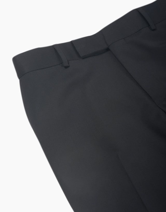 Lotus black twill trouser