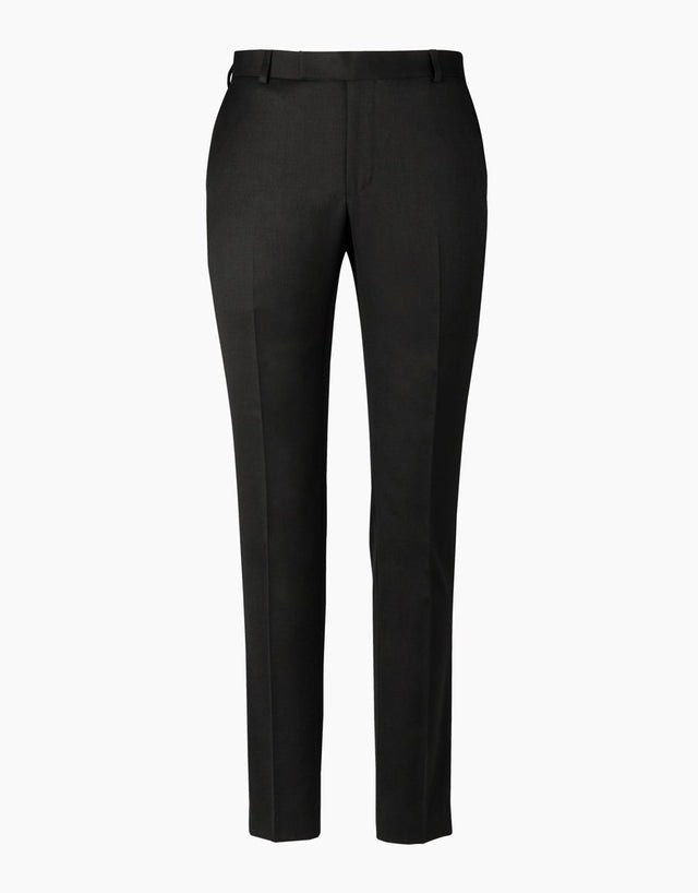 Prince black twill trouser