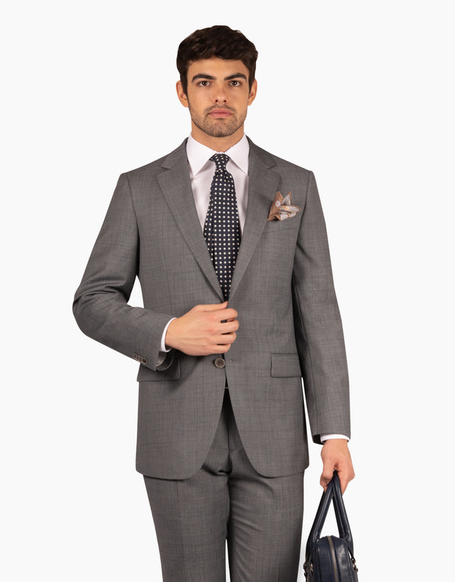 Cooper grey check jacket