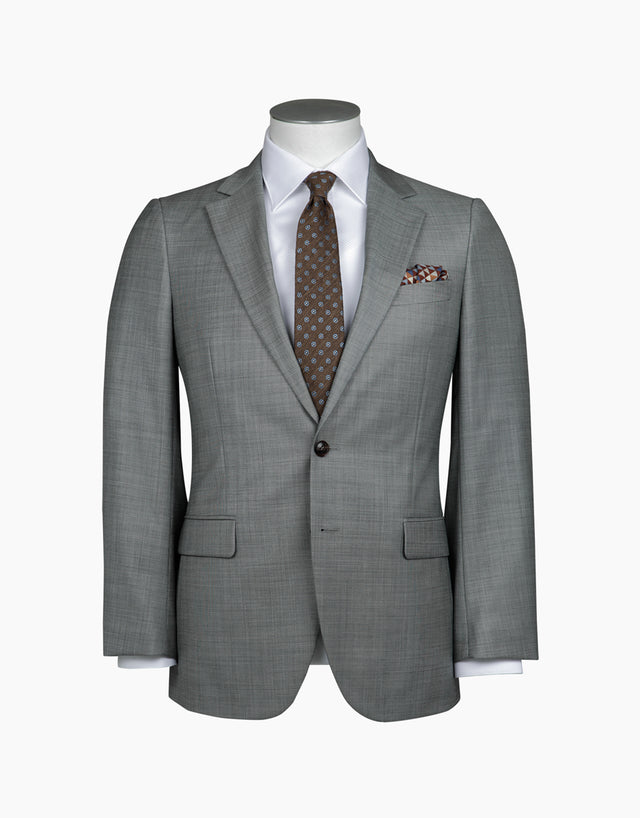 Cooper Light Grey Two Piece Suit