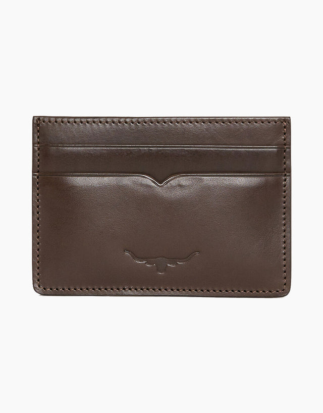 R.M. Williams City Chestnut Credit Card Holder