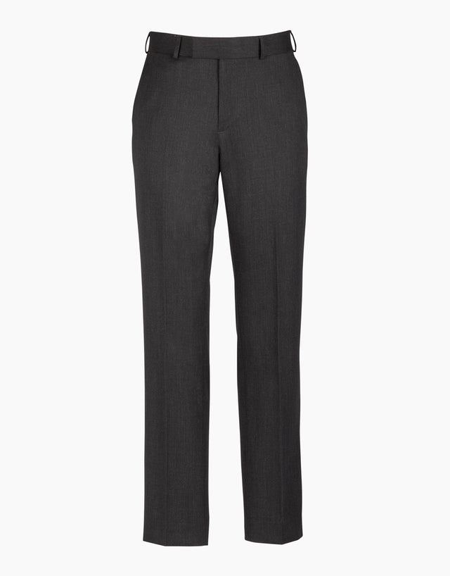 Lotus Charcoal Gaberdine Trouser