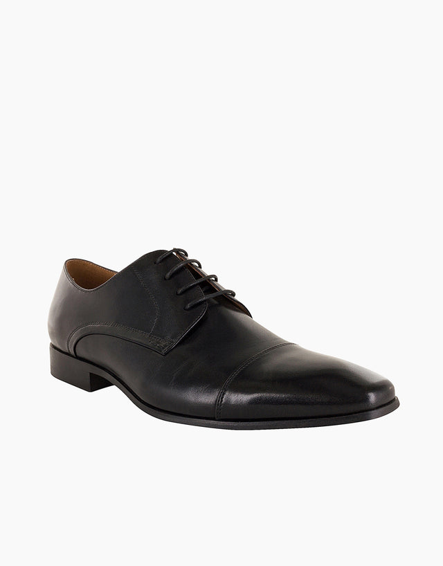 Florsheim Clayton Black Cap Toe Derby