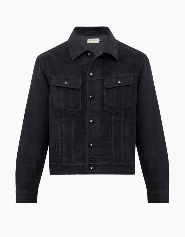 R.M. Williams Rider Dark Grey Jacket