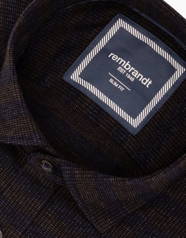 Knight Navy Stripe Shirt