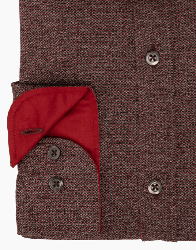 Knight Red Speckled Shirt