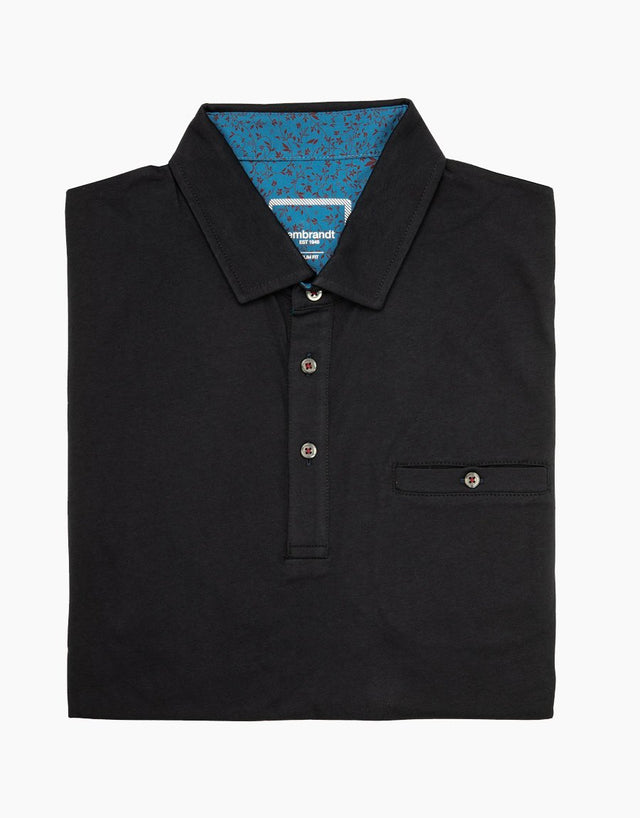 Portofino navy polo