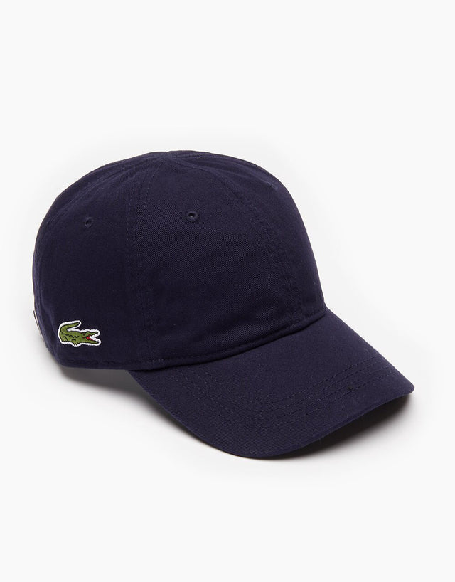 Lacoste Navy Basic Side Croc Cap