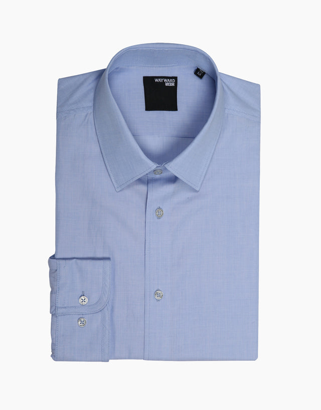 Brooklyn Blue Microdesign Tailored Shirt