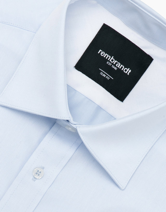 Santiago light blue tailored shirt