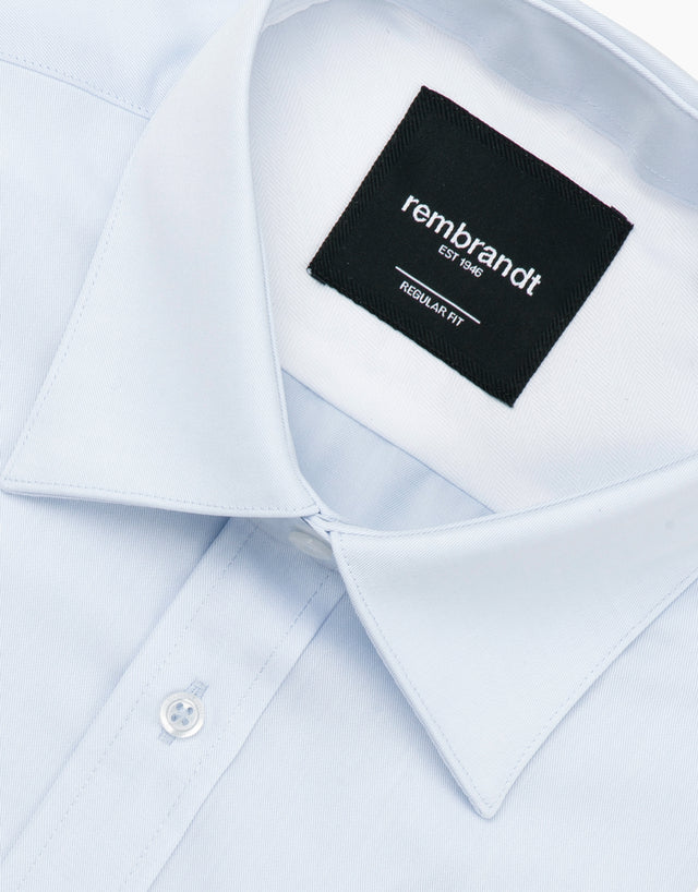 Sinatra Light Blue Tailored Shirt
