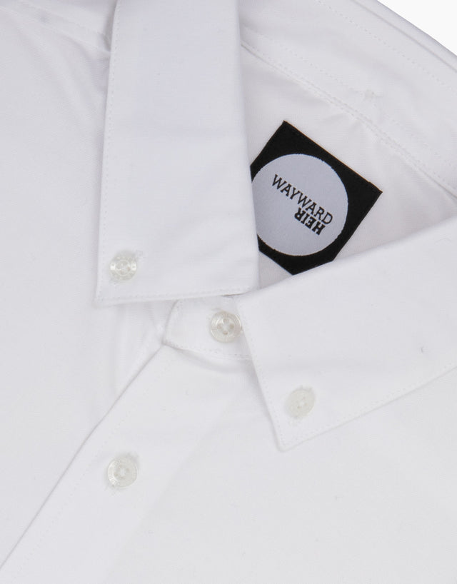 Kelburn White Casual Shirt
