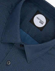 Brooklyn Navy Dot Tailored Shirt
