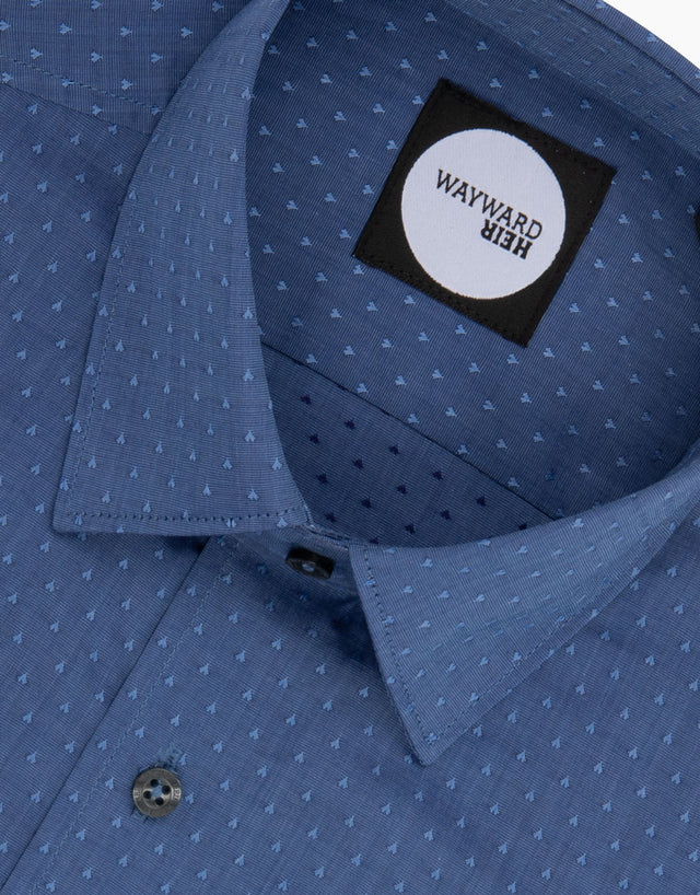 Brooklyn Blue Hearts Tailored Shirt