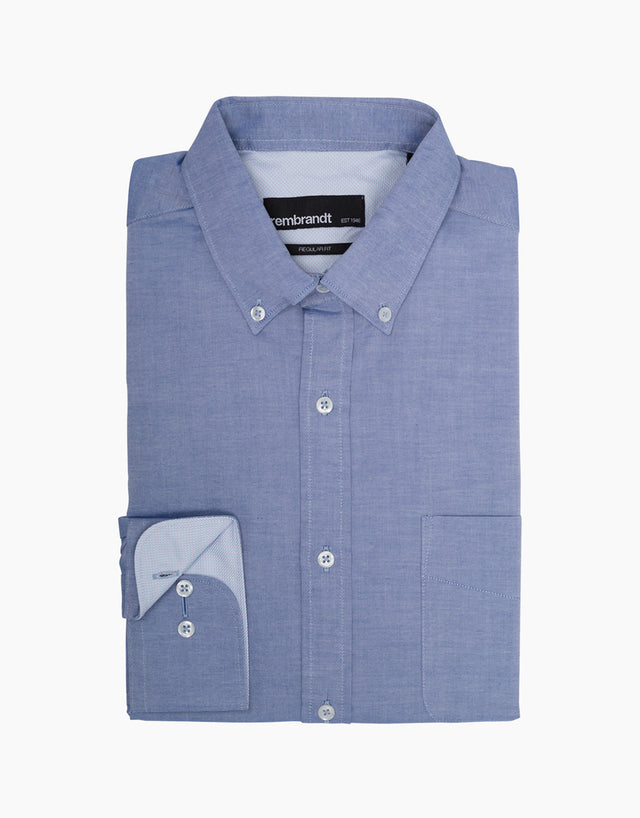 Awaroa Blue Casual Shirt