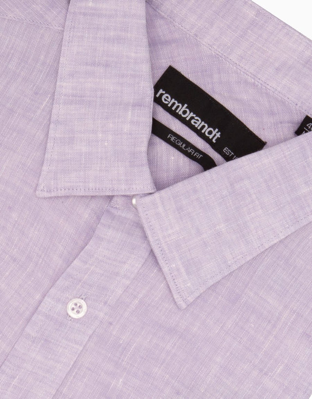 Papamoa Lilac Casual Shirt