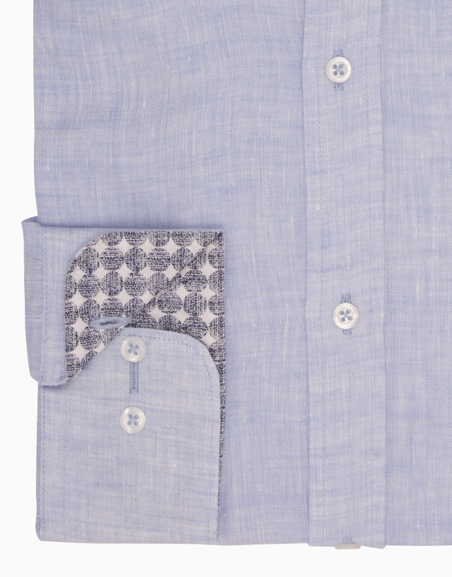 Papamoa Light Blue Casual Shirt
