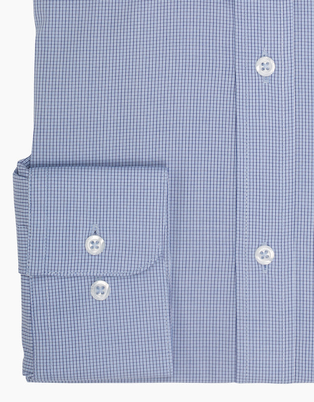 London Blue Check Shirt