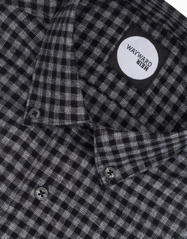 Kelburn Black & Grey Check Shirt
