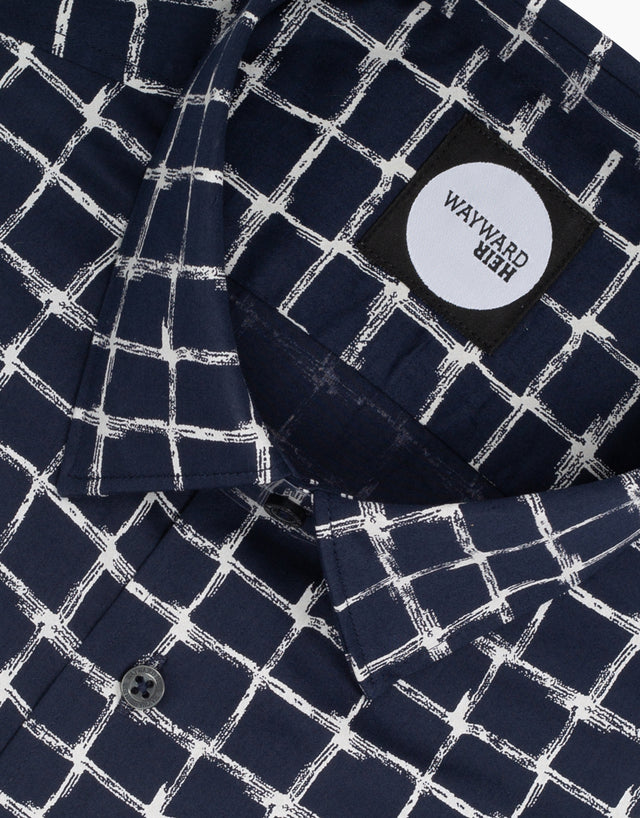 Brooklyn Navy Check Shirt