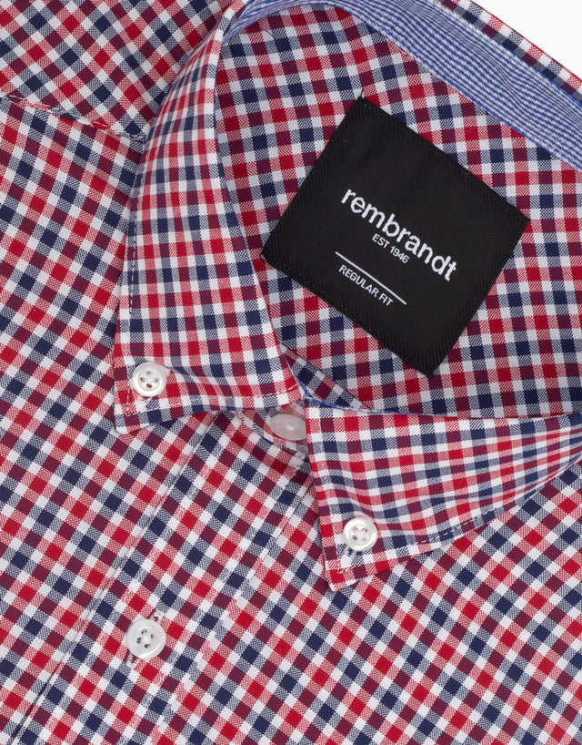 Awaroa Red Check Shirt