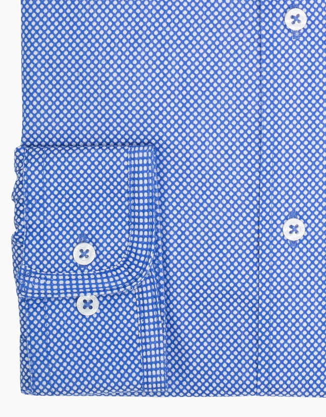 Brooklyn Blue Dot Shirt