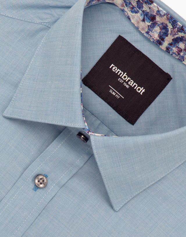 Barbican blue shirt