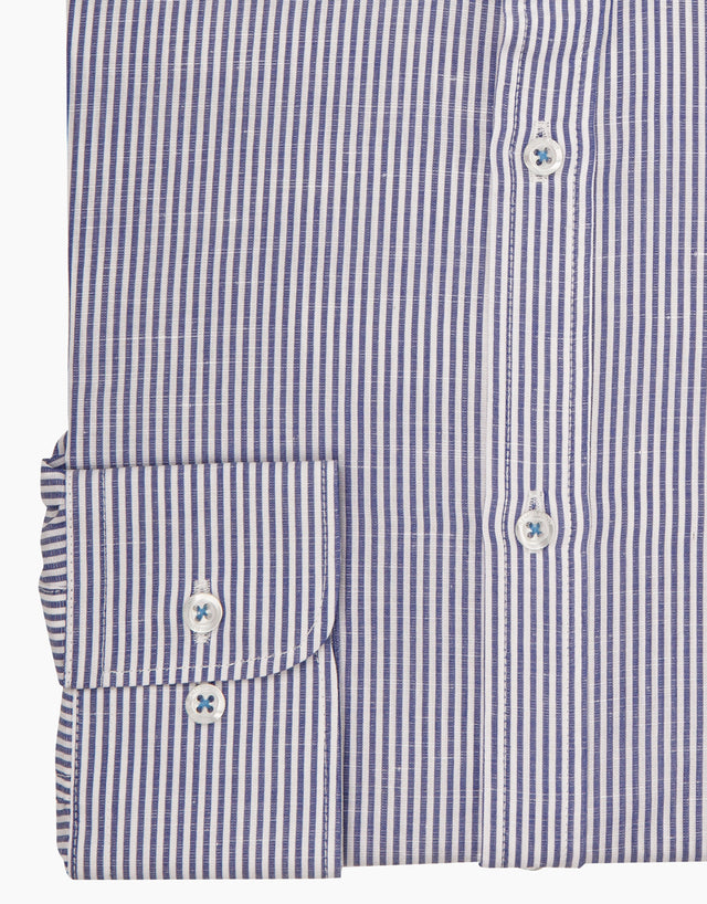 Luca blue stripe Casual shirt