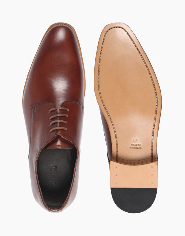 Derby Brown shoes